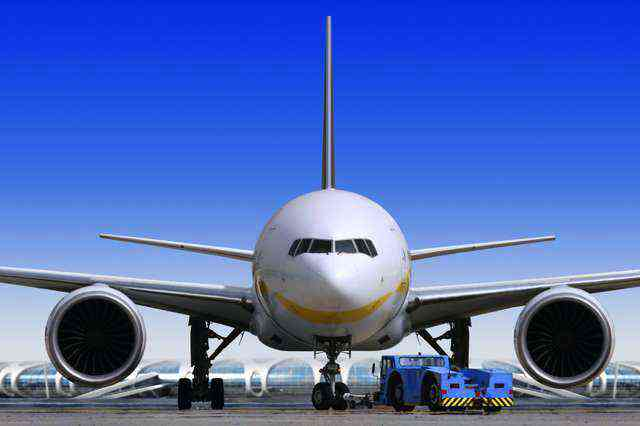 Airplane before starting the Forwarding Process with DHL and FedEx
