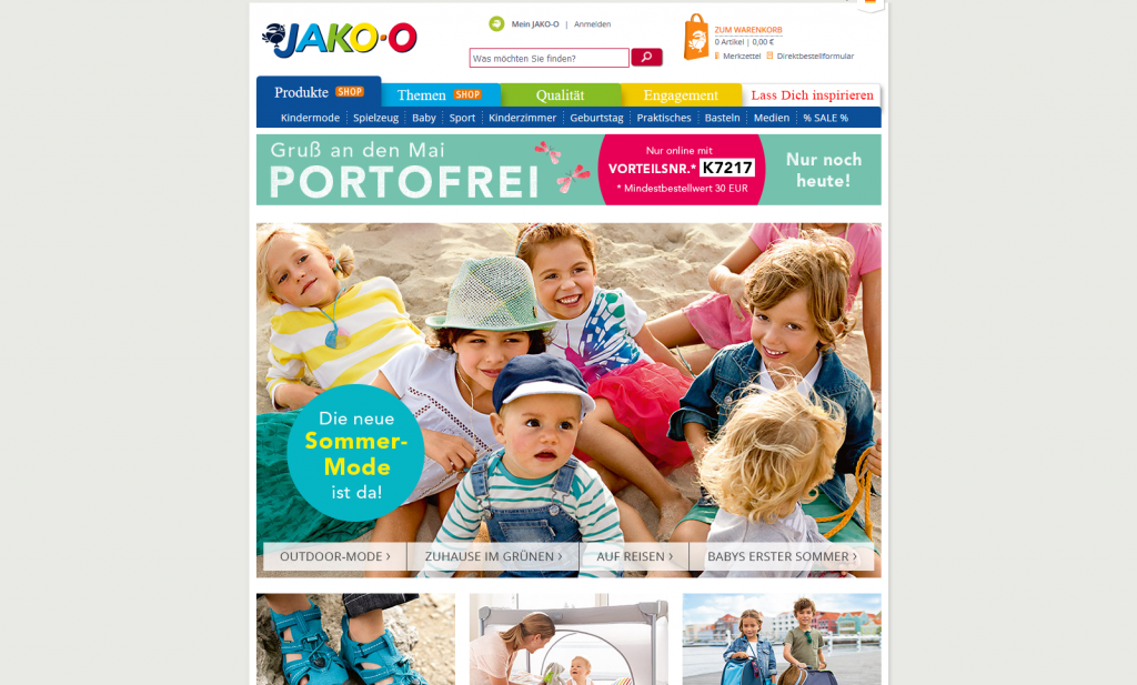 JAKO-O – everything for children