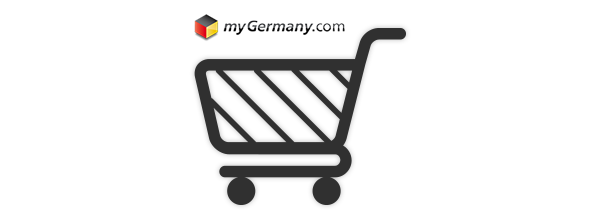 Register with myGermany now and start shopping in Germany and Europe!
