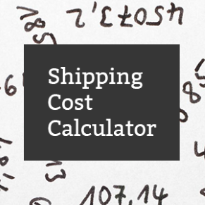 Calculate your shipping costs