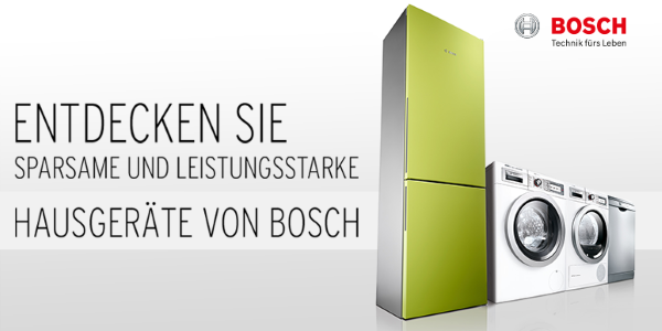 Bosch Household Appliances at Karstadt.de