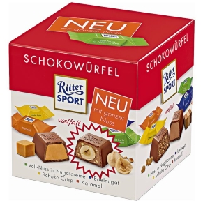 Rossmann Ritter Sport German chocolate
