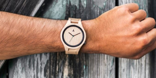 MAM watches and sunglasses made of recycled wood