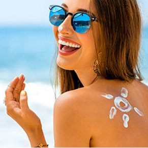 Rossmann Sun Screen and Cosmetics