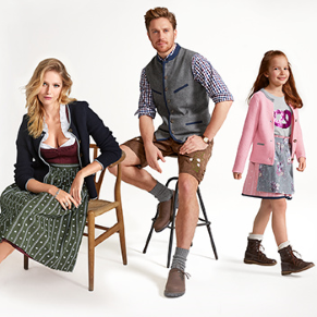 Tchibo Oktoberfest Dirndl and Leather Trousers for the whole family