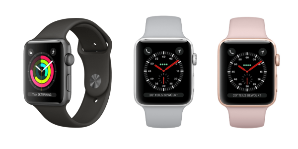 Apple Watch Series 3 now available