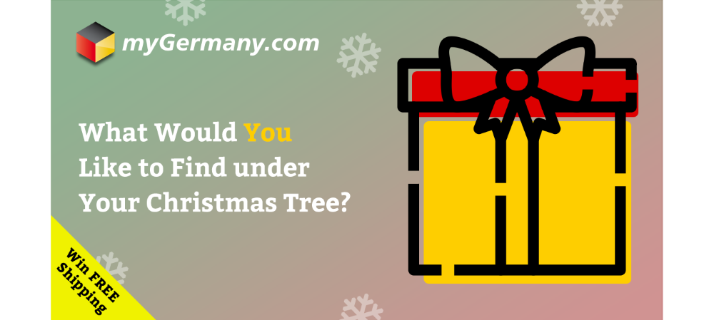 Win Free Shipping from Germany this Christmas