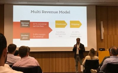 Marketplace Introduction at PWC – The Scale Programme – Investor Event in Berlin 06/2019