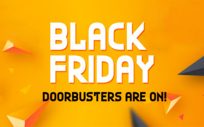 Black Friday Doorbusters Are On!